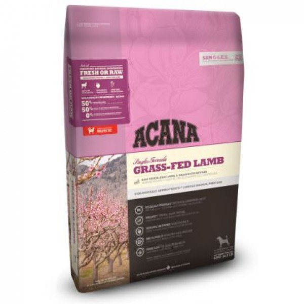 ACANA GRASS FED LAMB  11.4  kg ACANA