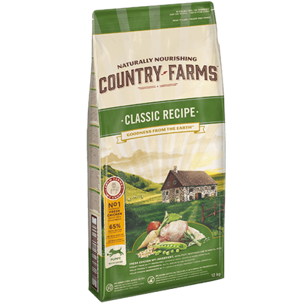 COUNTRY FARMS  PUPPY CLASSIC RECIPE 2.5 kg COUNTRY FARMS