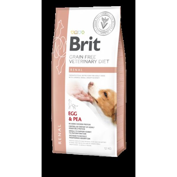 BRIT RENAL DOG 2kg BRIT
