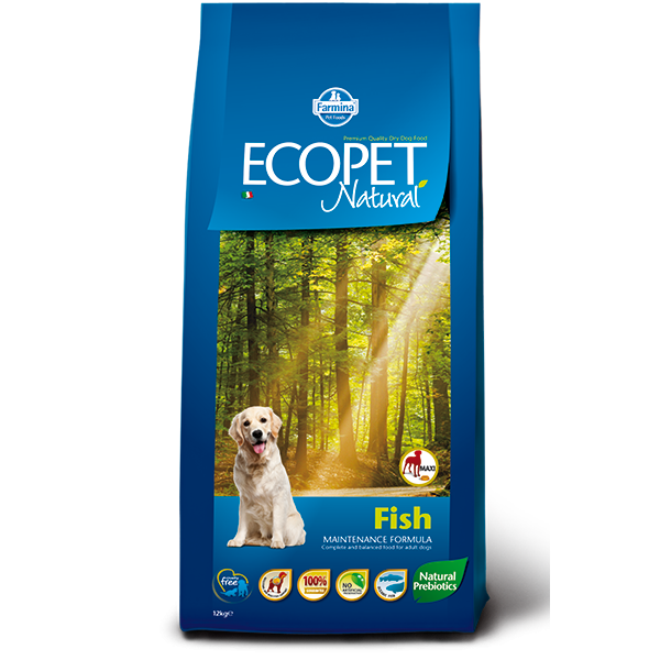 ECOPET NATURAL FISH MAXI 12kg TEAM BREEDER - ECOPET