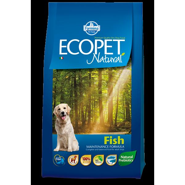 ECOPET NATURAL FISH MEDIUM 12kg TEAM BREEDER - ECOPET