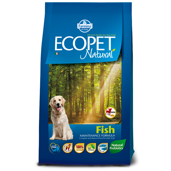 ECOPET NATURAL FISH MINI 12kg TEAM BREEDER - ECOPET