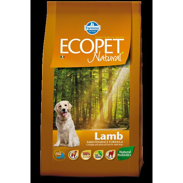 ECOPET NATURAL LAMB MEDIUM 2,5kg TEAM BREEDER - ECOPET