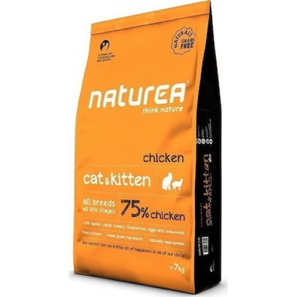 NATURALS CAT&KITTEN CHICKEN 7 kg NATUREA