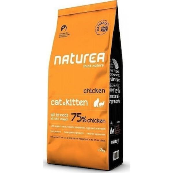 NATURALS CAT KITTEN CHICHEN  2 kg NATUREA