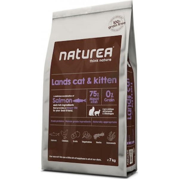 NATUREA LANDS CAT&KITTEN 7 kg NATUREA