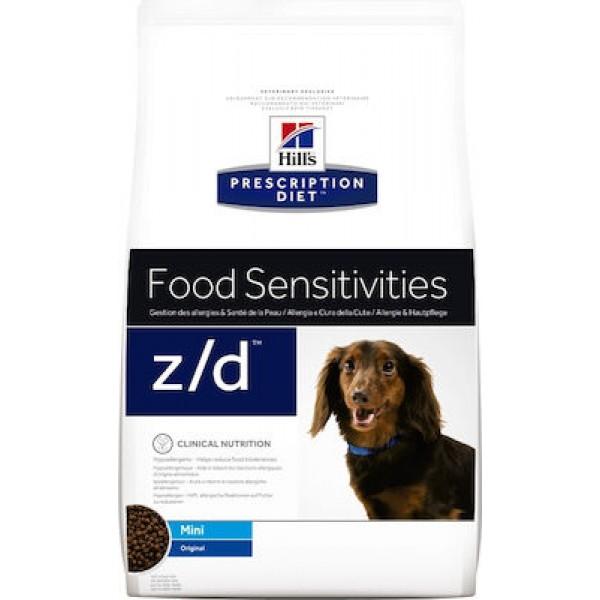 Hill's Prescription Diet Canine Z/D Mini Food Sensitivities 1.5kg Hill's PRESCRIPTION DIET